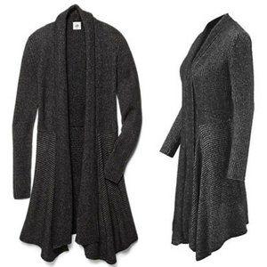 NWOT CAbi Cloak Cardigan Size Medium Black Marble